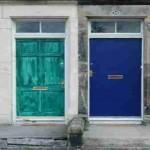 What's behind door…